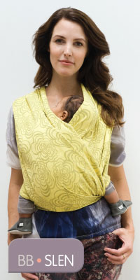Babylonia Baby Carrier BB-Slen geweven draagdoek