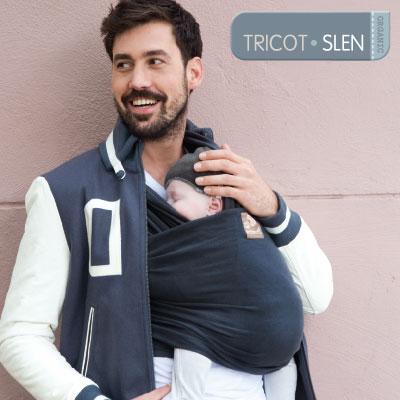 Tricot-Slen Organic - de originele Babylonia Tricot-Slen draagdoek