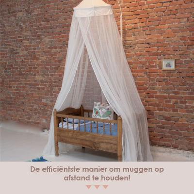 Miguelito klamboe - de efficiënste manier om muggen op afstand te houden