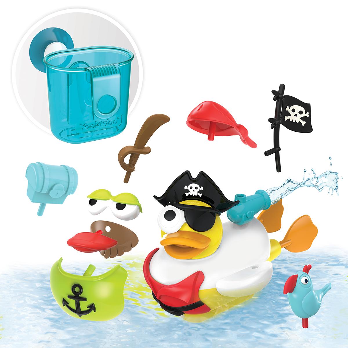 1daa021299cf32 Badspeelgoed - Jet Duck - Create a Pirate. Yookidoo