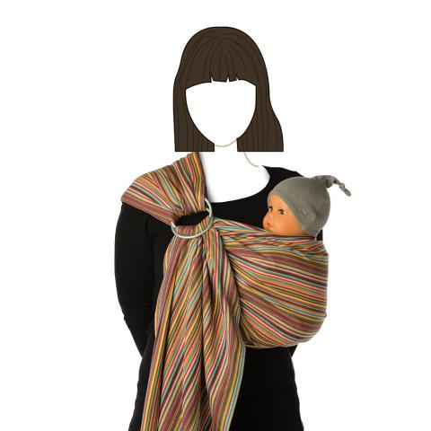 BB-sling - Pineapple | Babylonia baby webshop